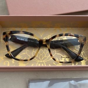 84902ace920 Miu Miu Accessories - MIU MIU eyeglasses light havana